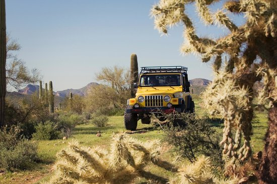 Apache Junction, AZ: Our trails will rock you!