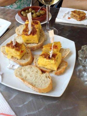 Hotel Princesa Vigo: Great food at the Hotel Princesa