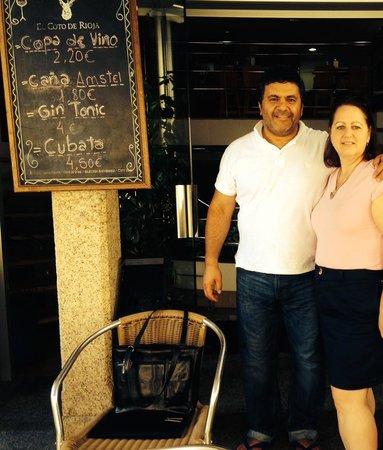 Hotel Princesa Vigo: Lovely Owner, Nestor