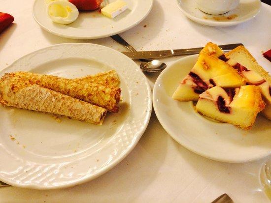 Hotel Arc La Rambla: Завтрак