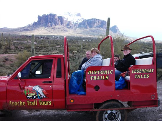 Apache Trail Tours: Tours offered all year round