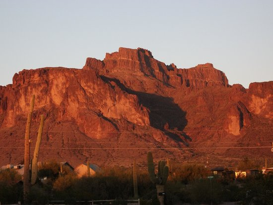 Apache Junction, AZ: Can you see the mountain lion?