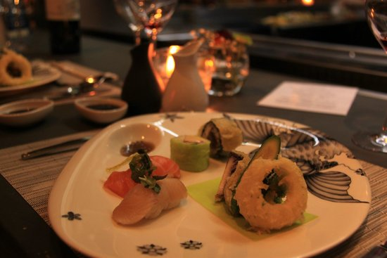 Dessert picture of koi aix en provence tripadvisor for Koi sushi aix