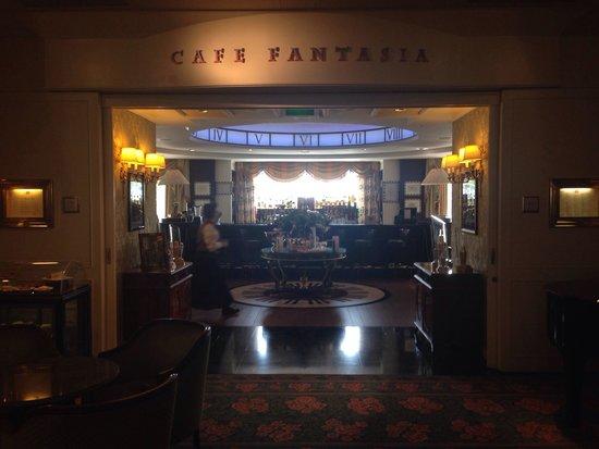 Disneyland Hotel: Cafe fantasia
