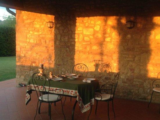 Santa Maria a Poneta: Terrasse
