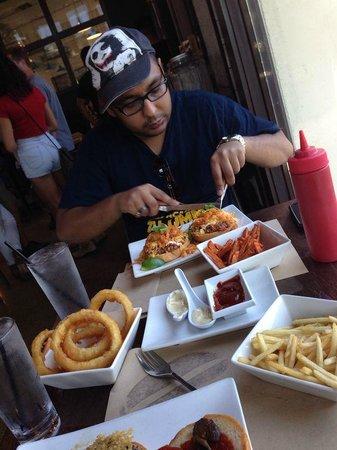 Umami Burger: diggin in