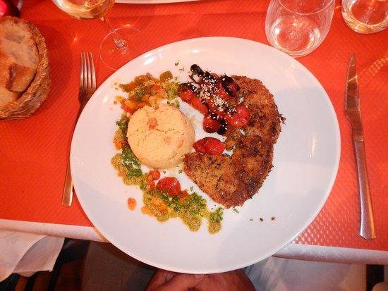 La Mere Michele: meal2