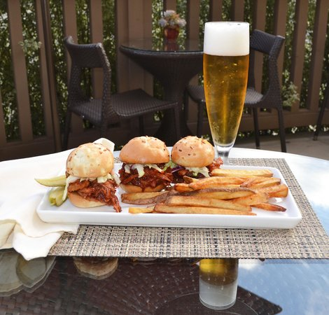 Hotel Abrego: Pork Sliders
