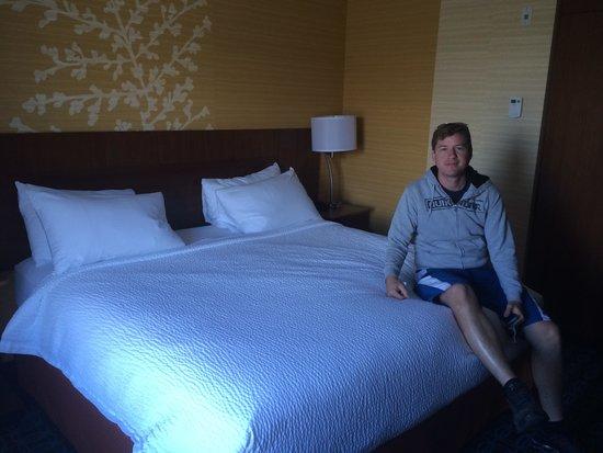 Fairfield Inn & Suites Vernon: Habitavion king