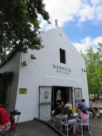 Warwick Wine Estate : Main house