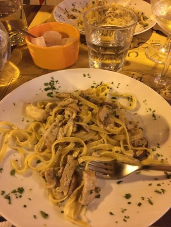 pasta mit pilzen picture of osteria cocotrippone florence tripadvisor. Black Bedroom Furniture Sets. Home Design Ideas