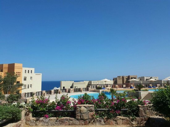 Azzurra Sahl Hasheesh Suite: View from the balcony