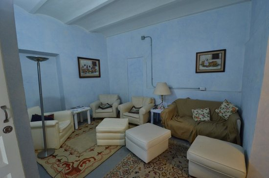Casa San Ildefonso Hostal: One of the sitting rooms