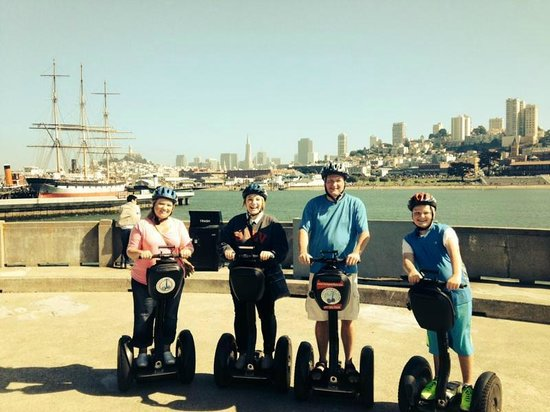 City Segway Tours San Francisco: Segway in SF!