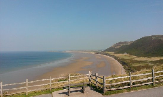 Rhossili Bay: One of many excellent views!