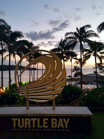 Turtle Bay Resort: Dusk at Turtle Bay