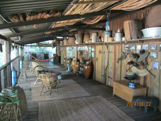 The Kebun: the Longhouse