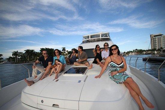 Coastal Yacht Tours: Having a blast