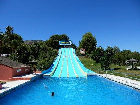Aqualand Torremolinos: Racing slide