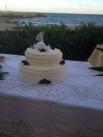 Hotel - Residence Lembo di Mare: la torta nuziale