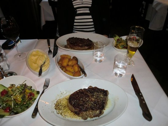 Good Meal Bild Von M Steakhouse Frankfurt Am Main Tripadvisor