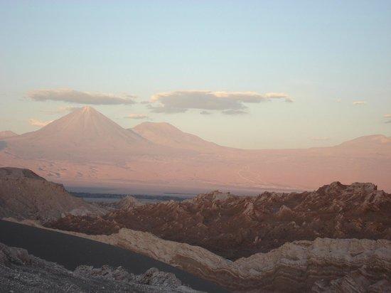 Atacama Dessert: Por do sol na Cordilheira dos Andes