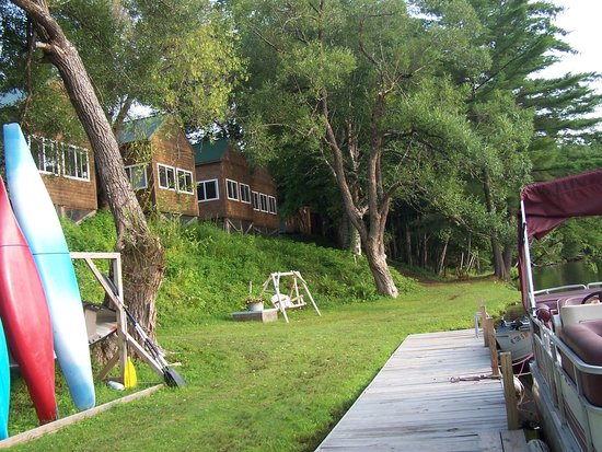 Loon Ridge: View from the dock