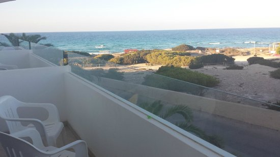 Maysi Hostal: View from room 118