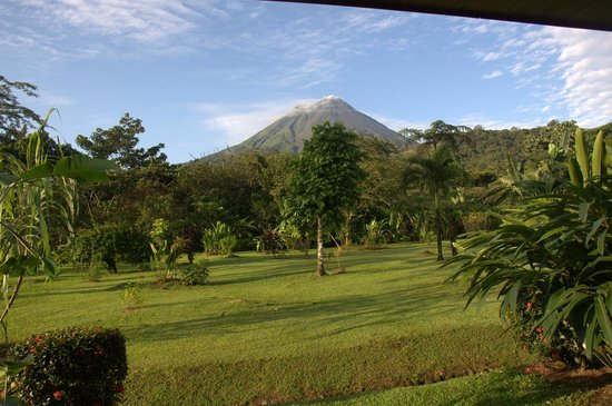 Volcano Lodge & Springs: View from the room