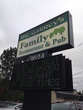 McGarrey's Oakwood Cafe