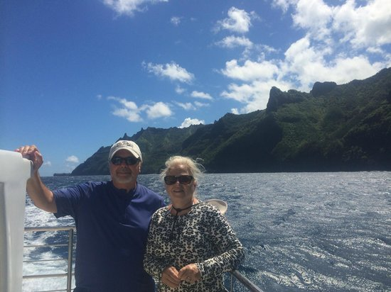 Blue Dolphin Charters: Taken by Capt Ray on the Napali Coast