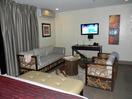 Goldberry Suites & Hotel: Уютный номер