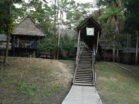 Muyuna Amazon Lodge : The lodge