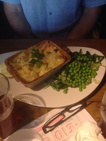 Poplar Farm: Fish pie my father had and enjoyed