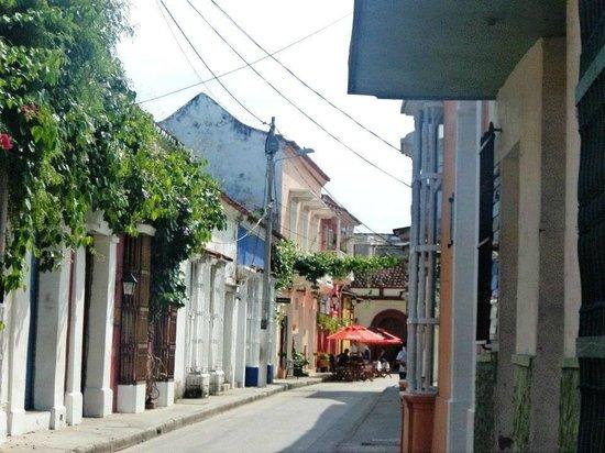 Bantu Hotel By Faranda Boutique: calle de la tablada