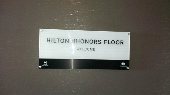 DoubleTree by Hilton Hotel San Francisco Airport North: HHonor Floor
