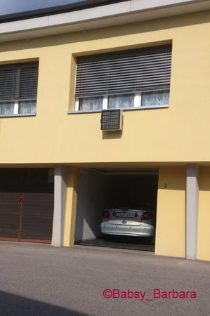 Hotel Vezia: our room with private Garage