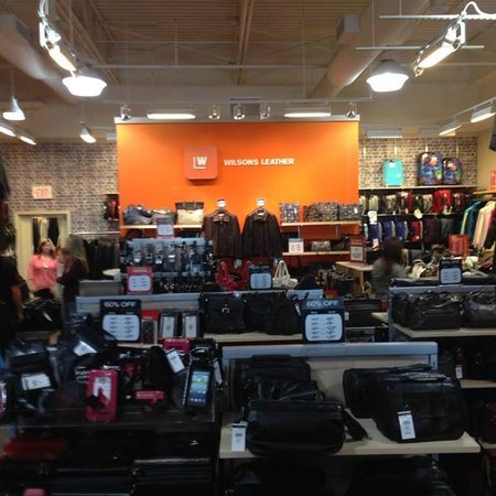 Wilsons Leather Outlet St Augustine Outlets Picture Of St