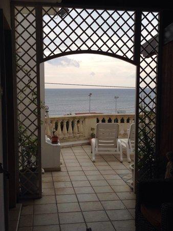 Hotel Corallo : Splendida Vista dal Secondo Piano!
