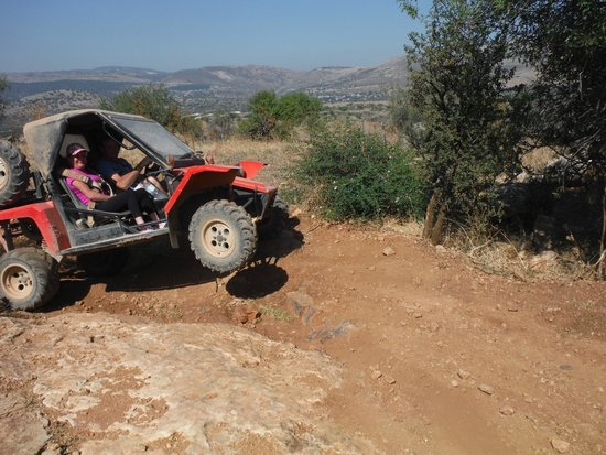 Israel Extreme: Getting some air