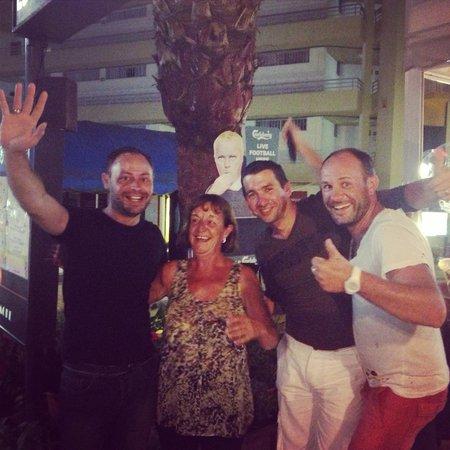 The British Bulldog: Our best waitresses Linda ;)))