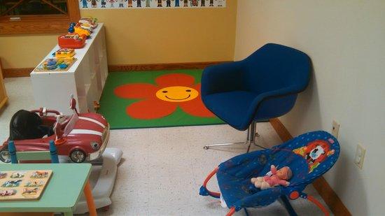 Thompson Community Center: Toddler corner for little ones