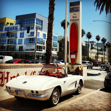 The Hotel California: Classic ride for a classic hotel.