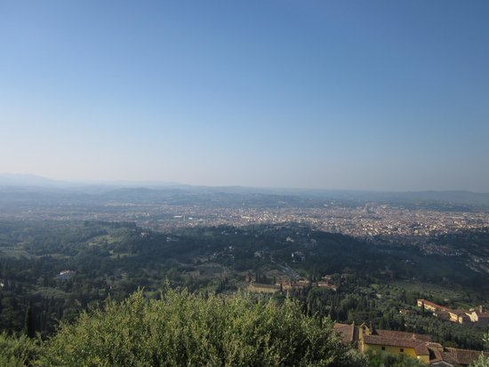 FiesoleBike Day Tours: View of Florence from Fiesole