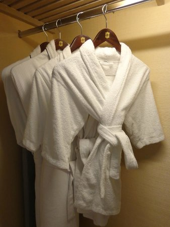 118f62d65a Bathrobe for adults and kids - Picture of Shangri-La s Boracay ...