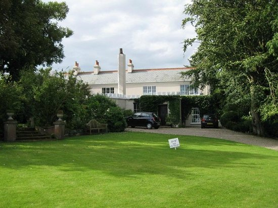 Whitepark House: View from the front of the grounds.