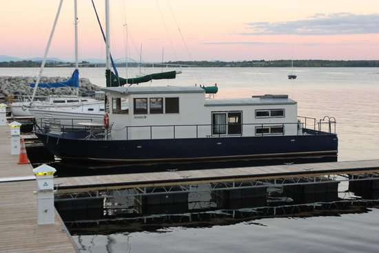 Houseboat At Port Henry Marina Picture Of Lake Champlain