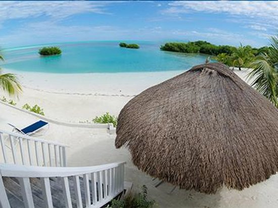 Royal Palm Island Resort: Unobstructed view of the Caribbean Sea