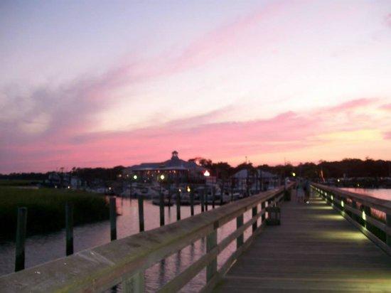 Wahoo's Fish House: Beautiful sunset