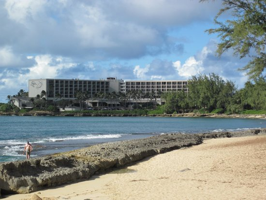 Turtle Bay Resort: All rooms in the hotel face water